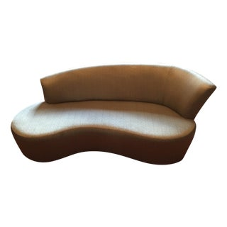 Vladimir Kagan Biomorphic Sofa by Weiman