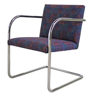 Mies Van Der Rohe Style Arm Chair - 25 Available