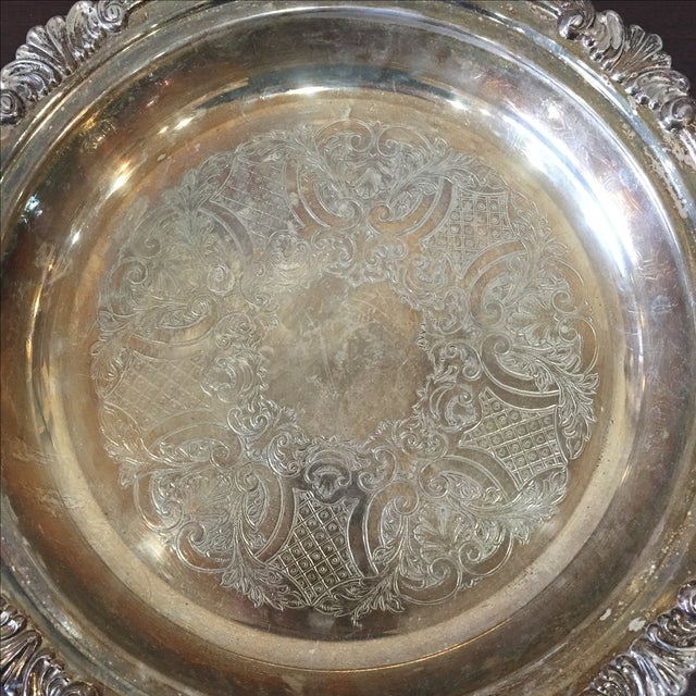 Silver Plated Dish - Image 3 of 7
