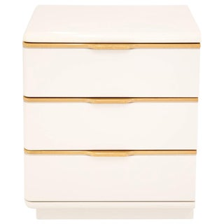 Lane 3-Drawer Lacquered Chest