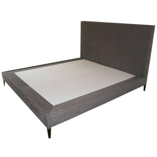 Customizable Yuri Platform Bed on Walnut Legs