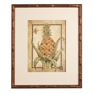 Artist - Michelle Woolley Sauter 'Pineapple Print No. 2'