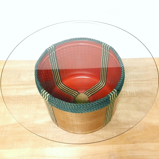 Dryer Drum Coffee Table - Image 2 of 9