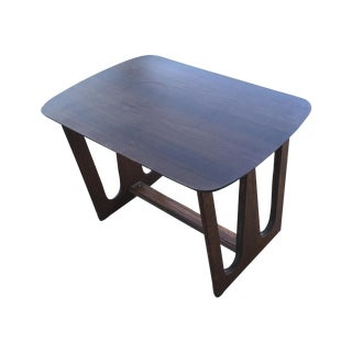 Walnuts Rectangular Side Table Style of Broyhill