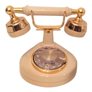 Vintage Rotary Dial European Style Phone