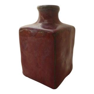 Mid-Century Slab Form Vase