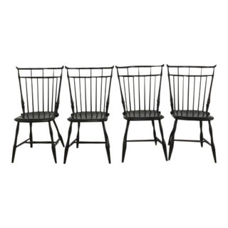 D.R. Dimes Bird Cage Windsor Dining Chairs - Set of 4