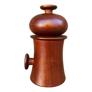 Vintage Salt and Peppermill Cherrywood