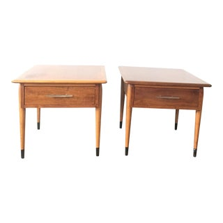 Andre Bus for Lane Mid-Century Side Tables - A Pair