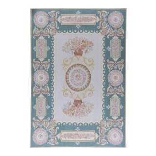 "Pasargad Aubusson Hand Woven Wool Rug - 11' 6"" x 18' 0"""