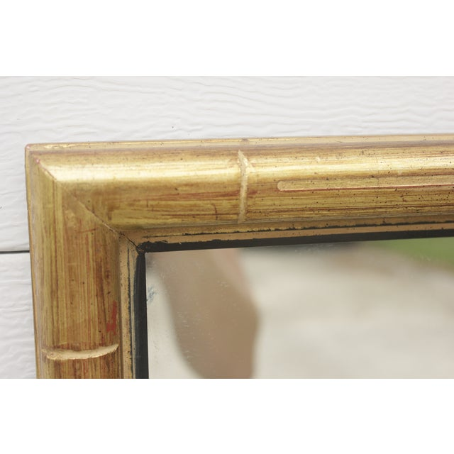 Faux Bamboo Gold Mirror - Image 5 of 5