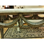 Image of Tesselated Stone & Cast Iron Console Table