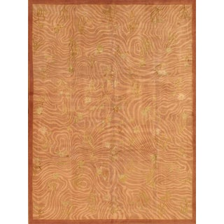 "Pasargad Tibetan Silk & Wool Area Rug - 9' 1"" X 12' 4"""