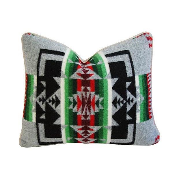Custom Chief Joseph Pendleton Blanket Pillow - Image 1 of 5