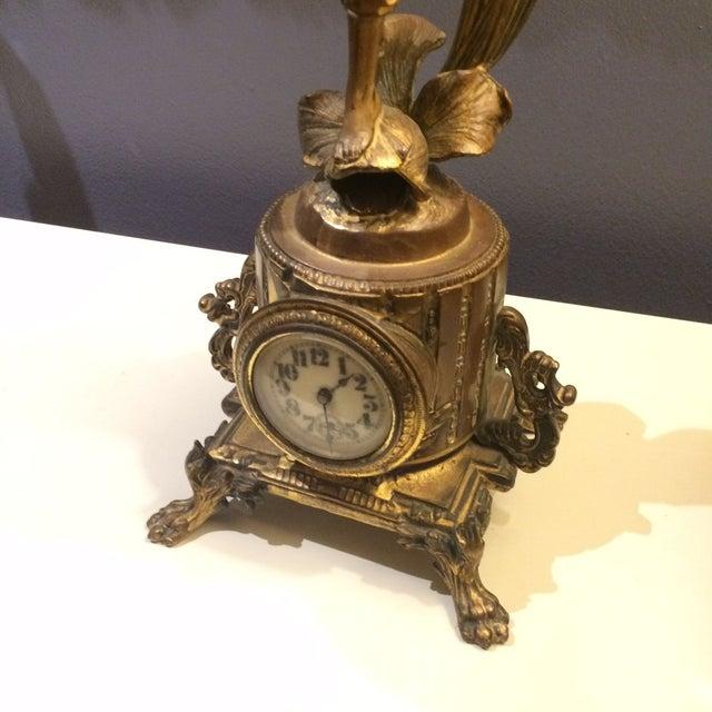 Bronze Sculptural Clock - Image 3 of 8