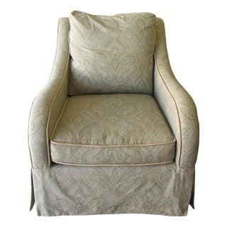 Custom Made Paisley Arm Chair