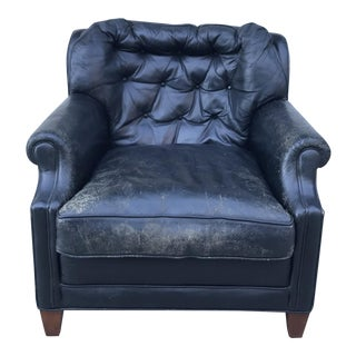 Worn Vintage Smoking Chair