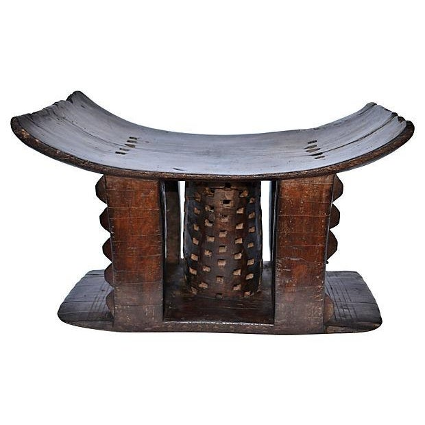 Image of Antique African Asante Stool