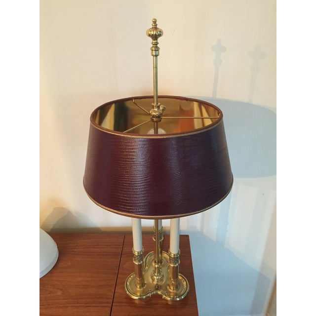 Stiffel Bouillotte Candle Desk Lamp - Image 4 of 5