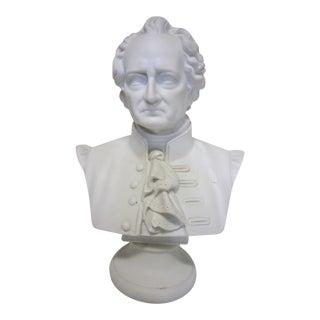 Goethe Bisque Ware Bust