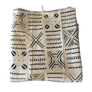African Black & Ivory Mud Cloth Fabric