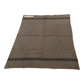 Vintage Wool Army Blanket