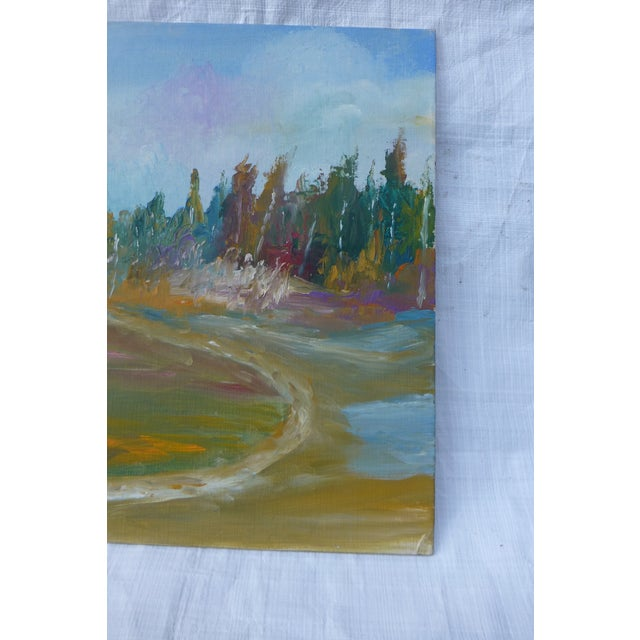 MCM Painting Autumn Path H.L. Musgrave - Image 5 of 6