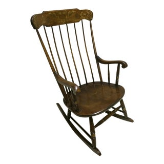 L. Hitchcock Windsor Rocking Chair