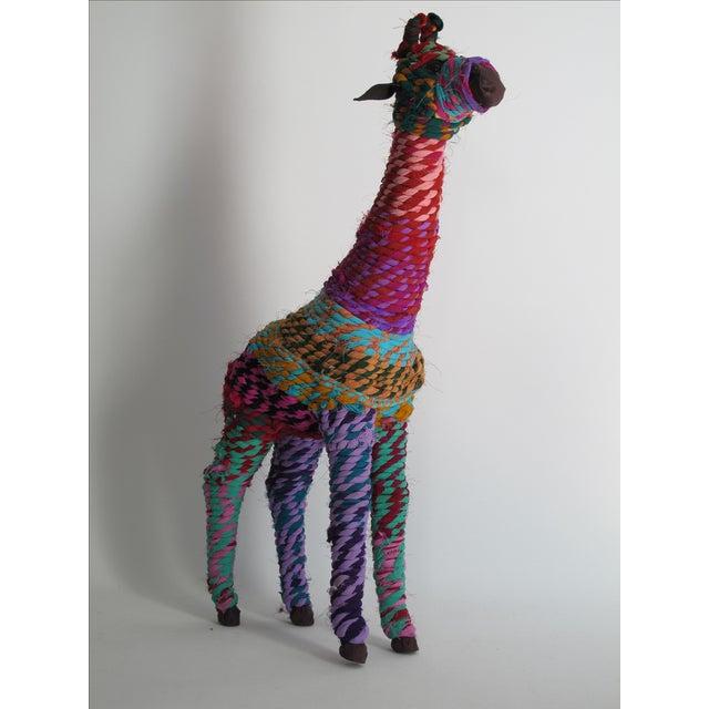 Boho Indian Chindi Giraffe - Image 4 of 7