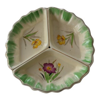 Chinese Floral Appetizer Tray