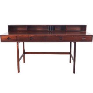 """Danish Rosewood """"Flip Top"""" Desk by Jens Quistgaard"""