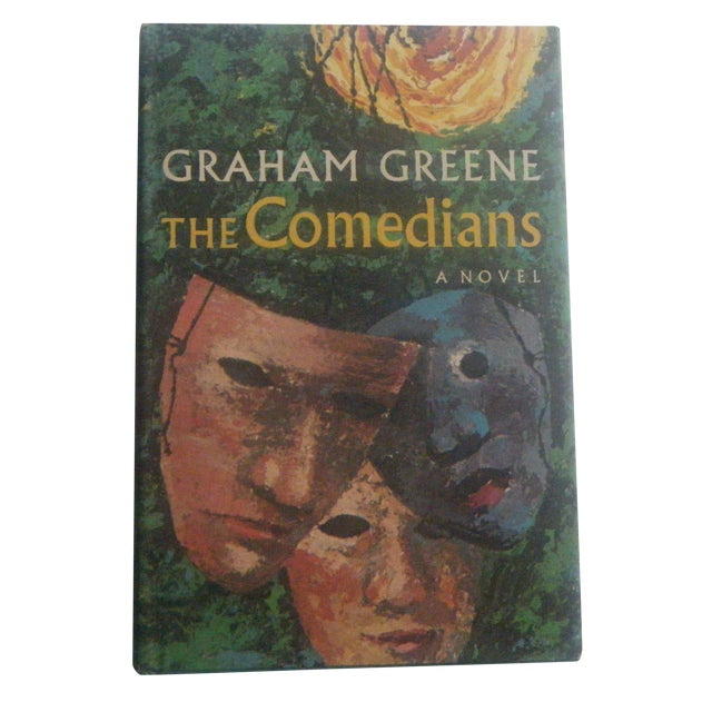 Vintage 1960s Haiti Book - The Comedians - Image 1 of 5