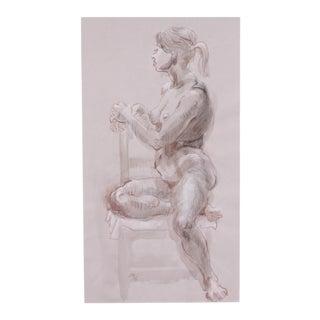 Seated Figure by Lois Davis