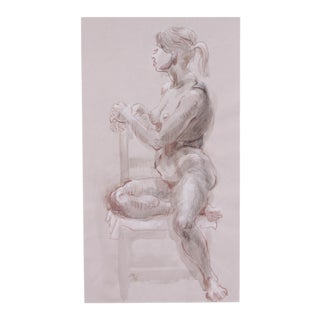 Seated Figure by Lois Davis