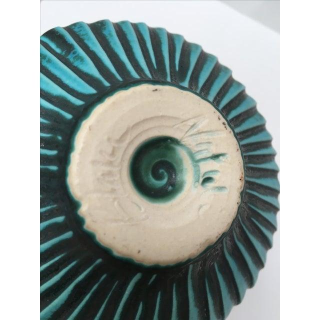 Studio Ceramic Teal Vase - Image 7 of 8