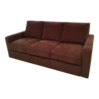 Room & Board Transitional Brown Sofa