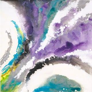 "Liz Jardine ""Liquid Lilac"" Painting"