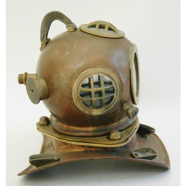 1960's Nautical Brass Diving Helmet - Image 9 of 9