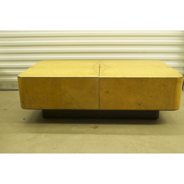 Image of Henredon Olive Burl Coffee Table