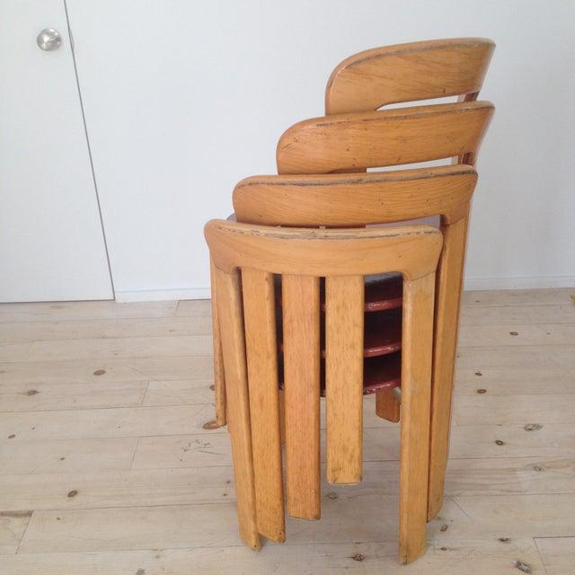Swiss Co. Dietiker Bruno Rey Chairs - Set of 4 - Image 5 of 7