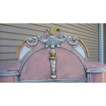 Image of Antiqued Pink & Gold French-Style Dresser