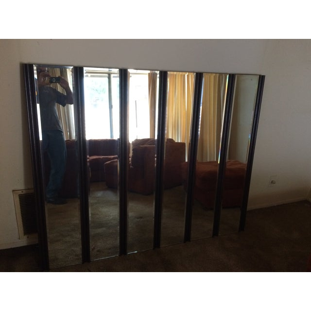 Mid Century Wall Mirror - Image 2 of 5