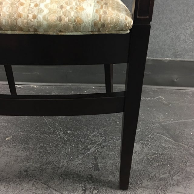 Hickory Geometric Upholstered Sticking Chair - Image 7 of 7