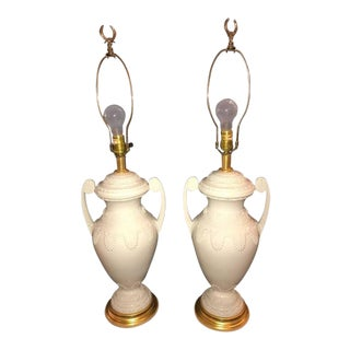Frederick Cooper Lenox Neoclassical Style Table Lamps - a Pair