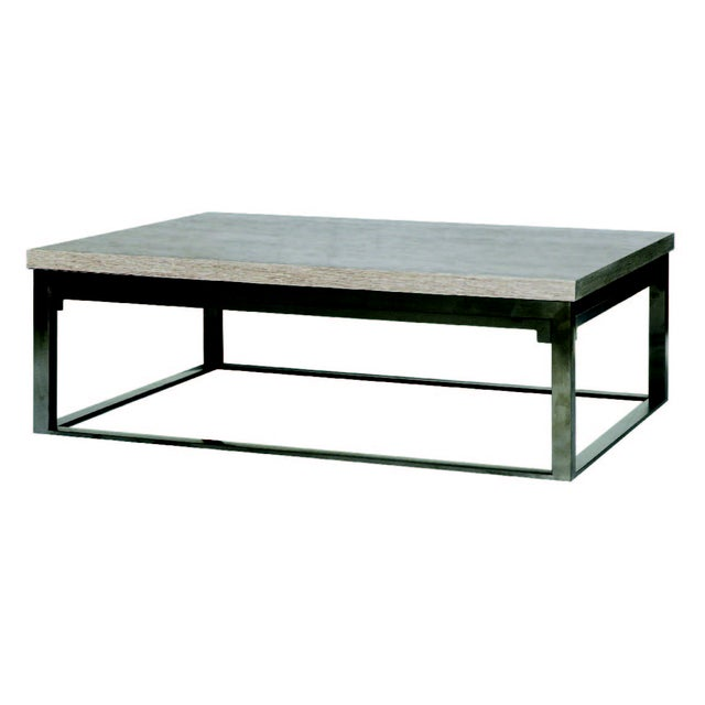 Image of Gray Walnut Coffee Table