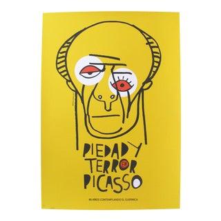 2017 Cuban Silkscreen, Guernica Pablo Picasso