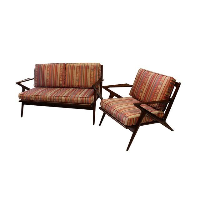 Poul Jensen Original Z Lounge Sofa Selig Danish Mid Century - Image 2 of 10