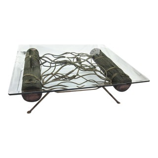 Reclaimed Shipwreck Tangled & Twisted Coffee Table