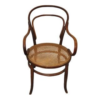 Antique Bentwood Armchair