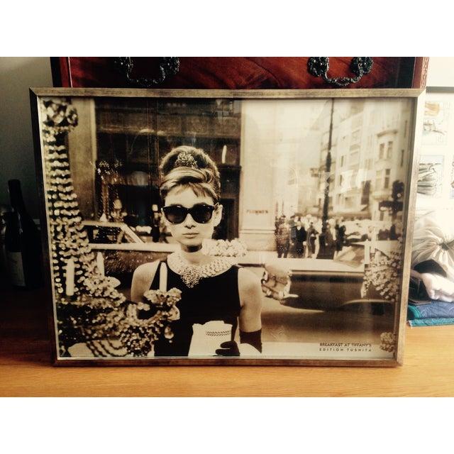 Image of Framed Audrey Hepburn Print